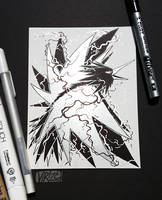 Ardent Legends Series: Zapdos by Virize