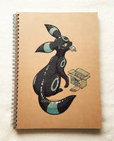 Shiny Umbreon and its Icy Treats by Virize