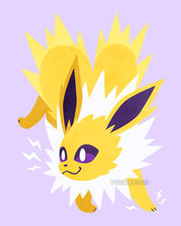 Let's Go, Eeveelutions! Jolteon by Virize