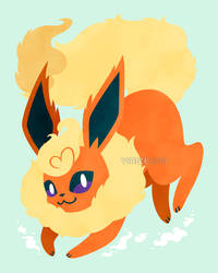 Let's Go, Eeveelutions! Flareon by Virize