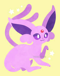 Let's Go, Eeveelutions! Espeon by Virize