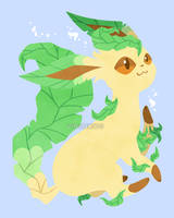 Let's Go, Eeveelutions! Leafeon by Virize