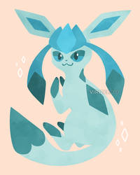 Let's Go, Eeveelutions! Glaceon by Virize