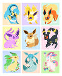Let's Go, Eeveelutions! [Compilation] by Virize