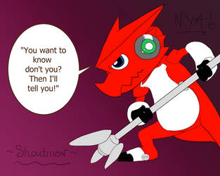 Shoutmon ^.^ by NekoYuiAoi