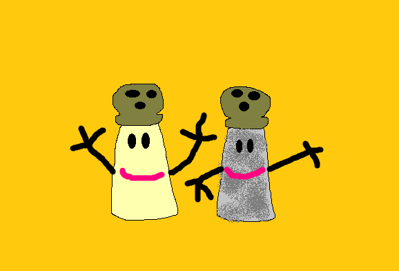 mr salt and mrs pepper from blueu0027s clues by matiriani28 blues clues mr salt mrs pepper o30 clues