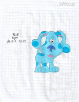 Blue from Blue's Clues by matiriani28