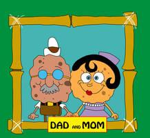 SpongeBob's Dad and Mom (version 2) by matiriani28