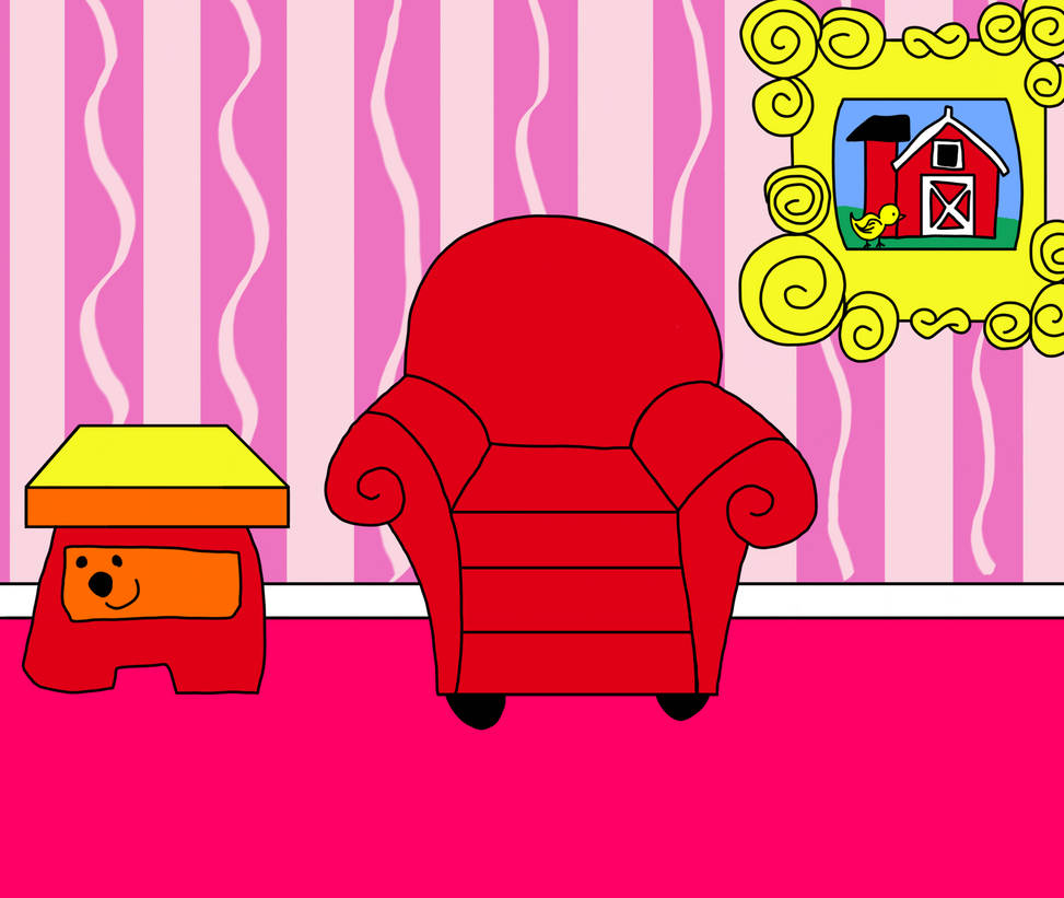 Blue's Clues And You Living Room New Look (v.2) By