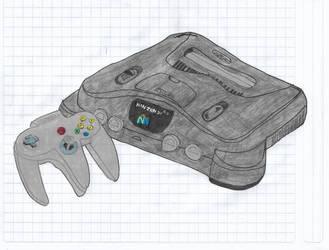 Console Nintendo 64 (1996) by matiriani28