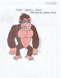 Young Cranky Kong (Donkey Kong 1981) by matiriani28