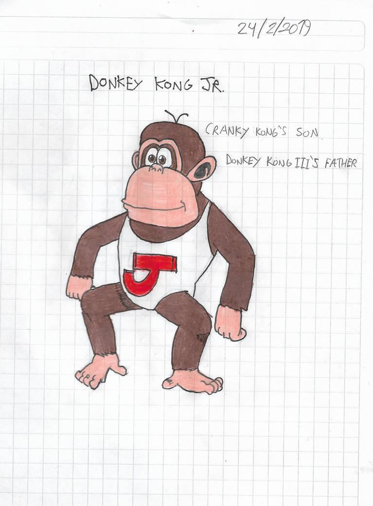 Donkey Kong Jr. by matiriani28