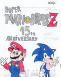 Happy Anniversary 15th Super Mario Bros Z