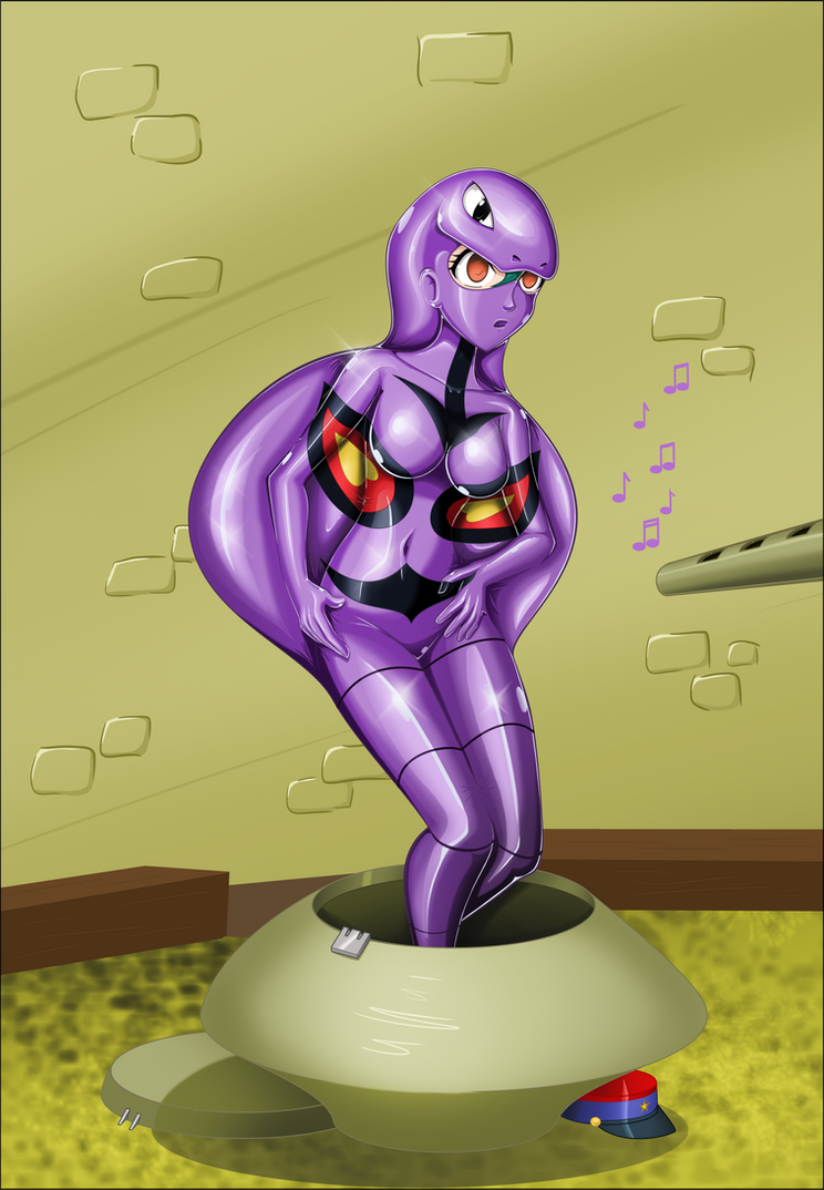 commissioned - Officer Jenny as Arbok 03 by Rosvo