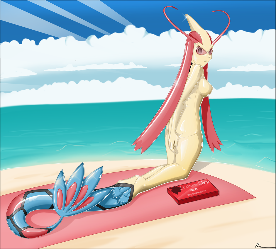 commissioned - Cynthia as Milotic 03 by Rosvo