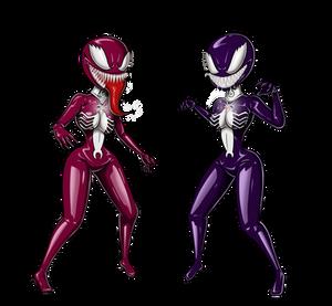 Venom Hinata and Sakura 03