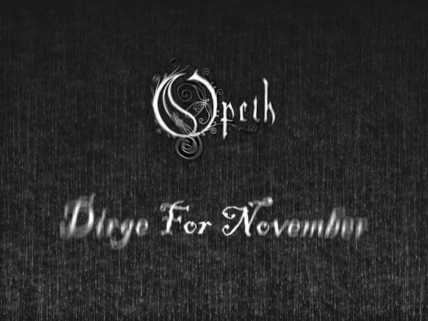 Image result for dirge for November pictures