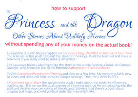How to support The Princess and the Dragon