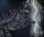 Godzilla by TussenSessan