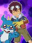 Daisuke and Veemon