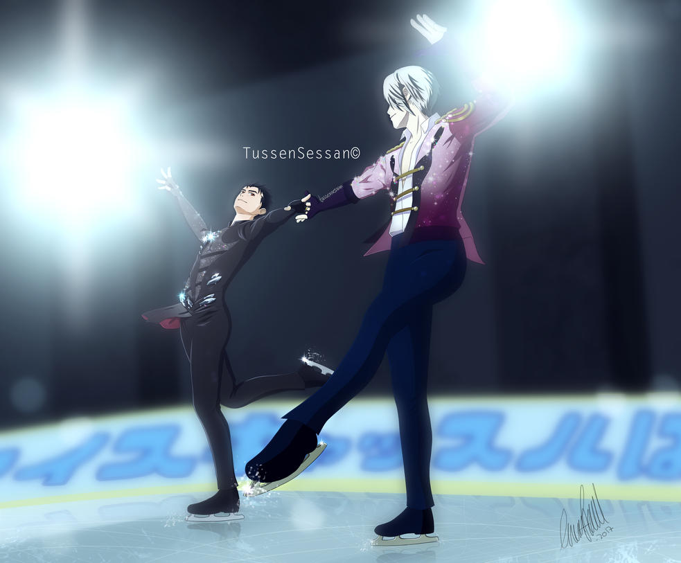 Move Your Body - Victor and Yuri FULL IMAGE by TussenSessan