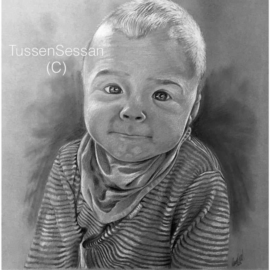 Commission - Baby portrait by TussenSessan