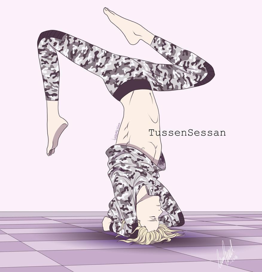 Morning Yoga by TussenSessan