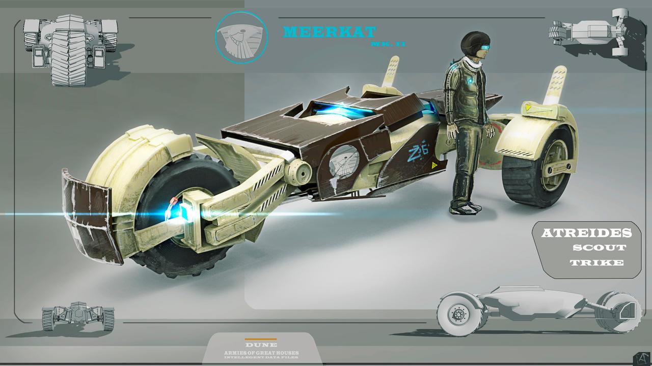 Atreides Trike Meerkat By Spidermc On Deviantart