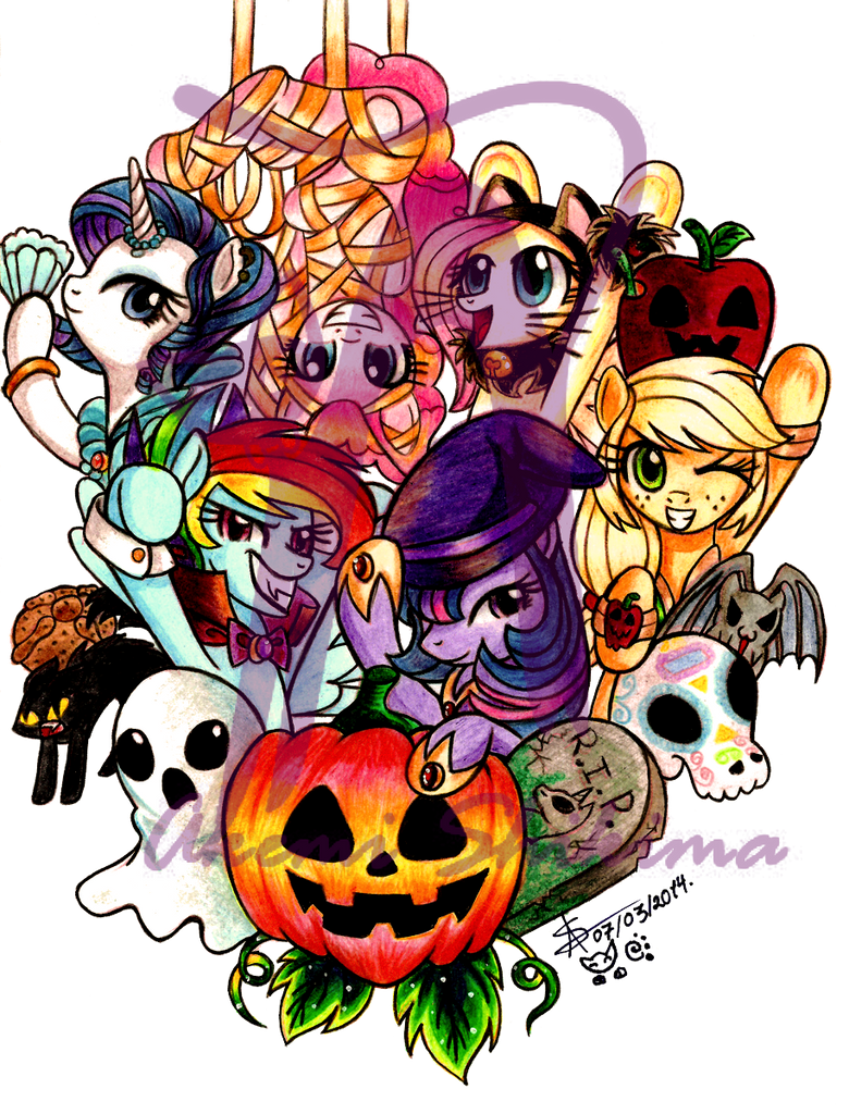 Nightmare Night 2013 by ShikimaAkemi