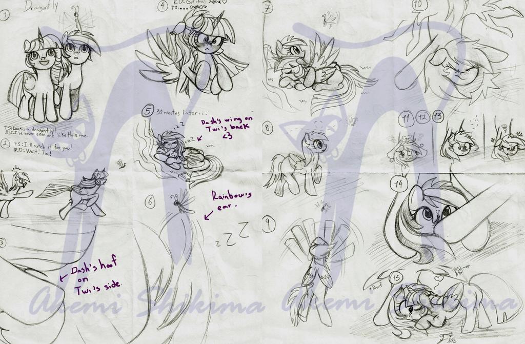 Twidash Minicomic draft_07 by ShikimaAkemi