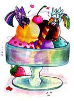 Day 13: Eating Icecream by ShikimaAkemi