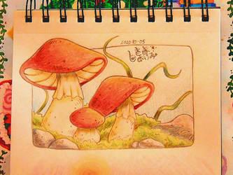 Autumn Sketch 5