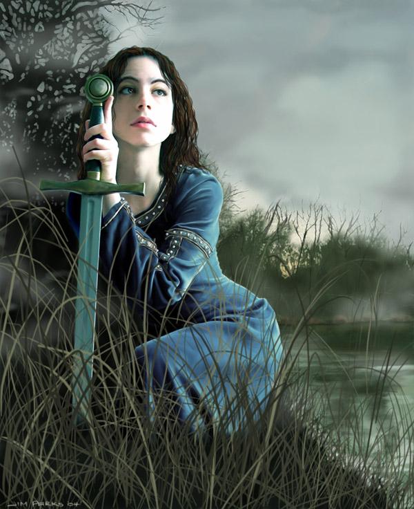 Lady of the Lake by gawain7
