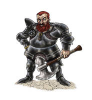 Dwarf Warrior by gawain7