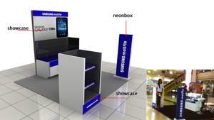 Samsung Exhibition booth
