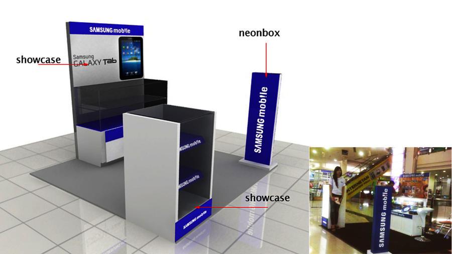 Exhibition Booth Website : Samsung exhibition booth by hellariusz on deviantart