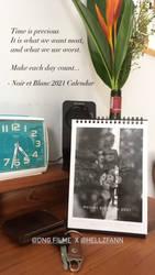 Noir et Blanc 2021 Calendar