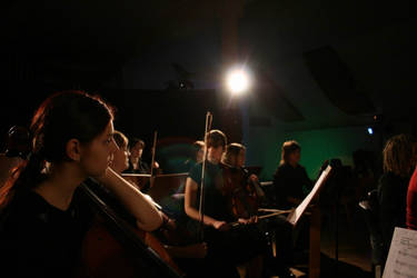 women cello music night.. by senner