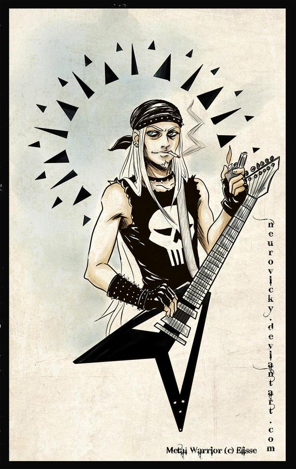 Metal warrior by neurovicky