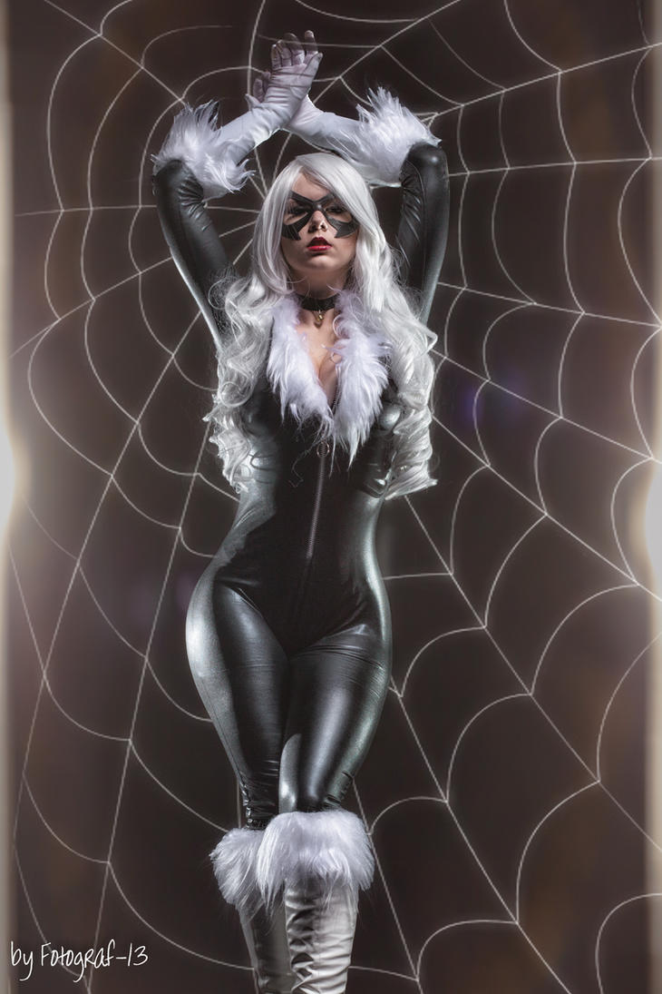 Miaaau Black cat cosplay by MiuMoonlight