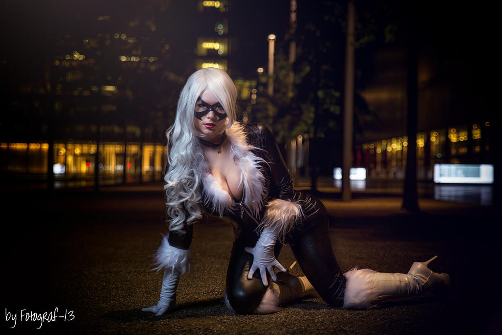 Black Cat Cosplay NYA by MiuMoonlight
