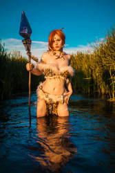Nidalee Cosplay They will fear the wild by MiuMoonlight