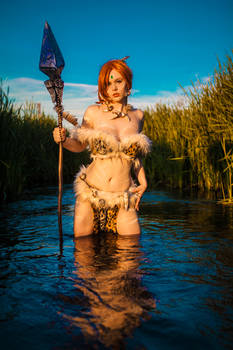 Nidalee Cosplay They will fear the wild