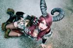 Succubus cosplay