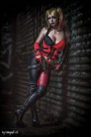 Hi Puddin Harley Quinn cosplay by MiuMoonlight