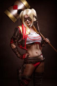 Whaaa Hello Mr. J. Harley Quinn Cosplay by MiuMoonlight