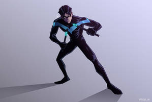 The Nightwing by MrSpikeArt