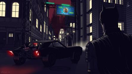 THE BATMAN by MrSpikeArt