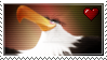 The Mighty Eagle - Stamp by MaryTheRacerBird