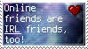 Online Friends - Stamp by Mary-The-Speed-Bird